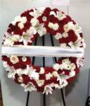 Corona fúnebre descanso eterno